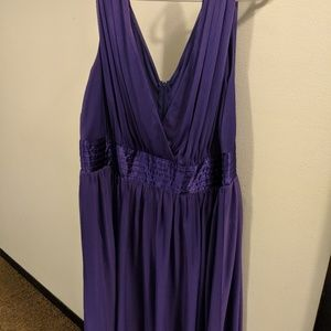 Purple Trixxi Plus Size Dress 2x